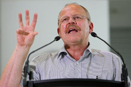 Opel-Betriebsratschef Klaus Franz