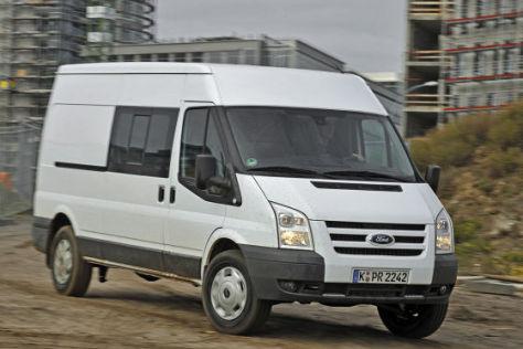 Test Ford Transit FT 350 L 4x4 Trend