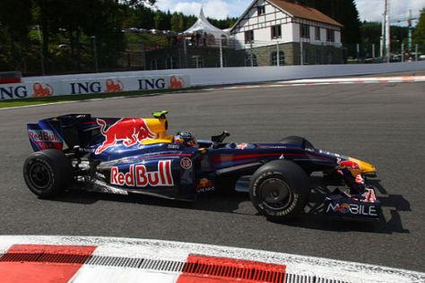 Sebastian Vettel im Red Bull