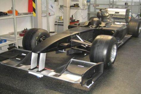 Das Lotus-Auto entsteht bereits - wer es fahren soll, ist allerdings noch nicht geklärt