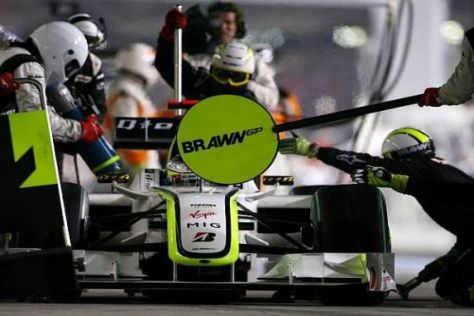 Hat Jenson Button seinen letzten Boxenstopp bei Brawn bereits absolviert?