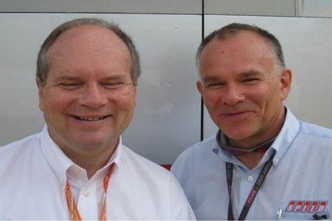Ken Anderson und Peter Windsor lassen sich von den Gerüchten nicht beeinflussen