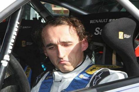 Das ging schief: Robert Kubica sah bei seinem Rallye-Gaststart nicht das Ziel