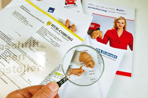 Versicherungs-Vergleich von autobild.de
