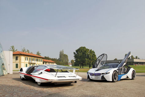 BMW Vision EfficientDynamics Pininfarina Modulo