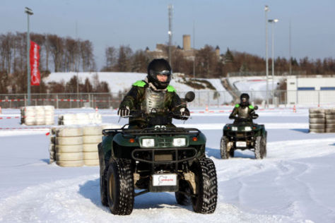 Winter Action am Ring