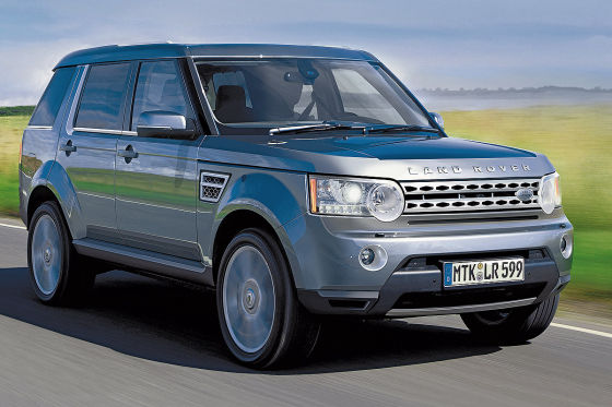 Landrover Discovery 5 Illustration