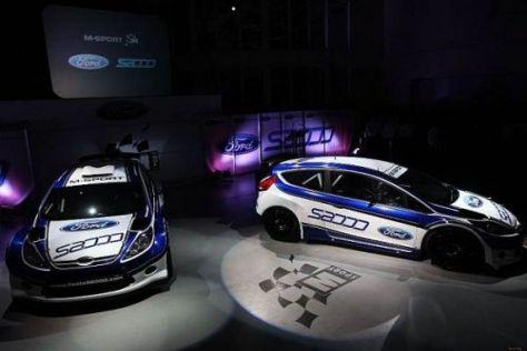 Mit viel Stolz hat M-Sport den neuen Ford Fiesta S2000 präsentiert