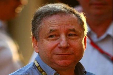 Erster großer Auftritt als FIA-Präsident: Jean Todt ist heute in Moskau