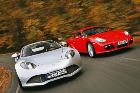 Artega GT Porsche Cayman S