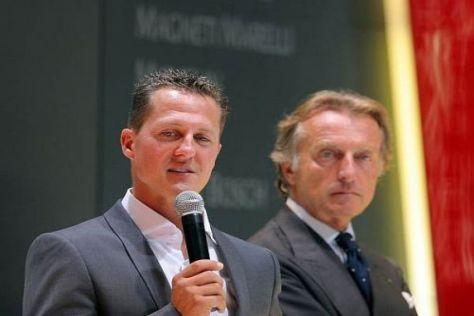 Gehen Michael Schumacher und Luca di Montezemolo bald getrennte Wege?