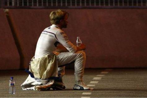 2008 noch bestplatzierter Deutscher, jetzt nur noch die Nummer vier: Nick Heidfeld