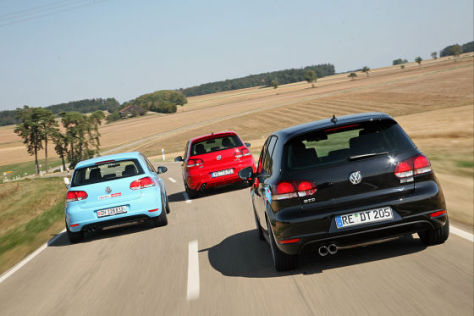 Abt Golf VS4 Digi-Tec Golf GTD Sportec Golf SC 200 LPG