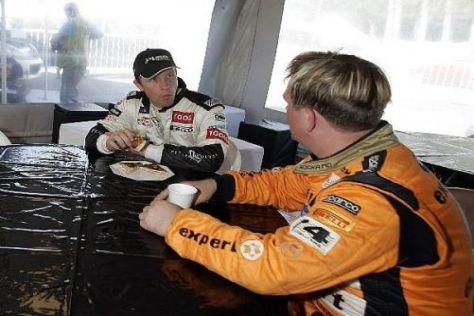 Petter und Henning Solberg wollen nun regelmäßig eine Motorshow veranstalten