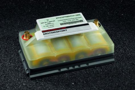 Porsche Lithium-Ionen-Starterbatterie