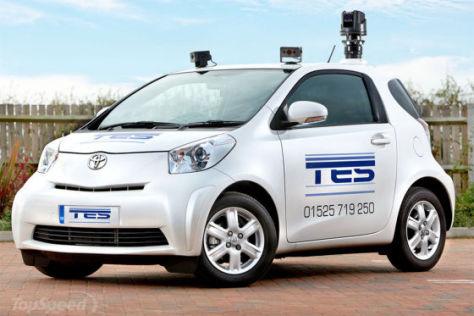 Toyota iQ Polizeiauto (Großbritannien)