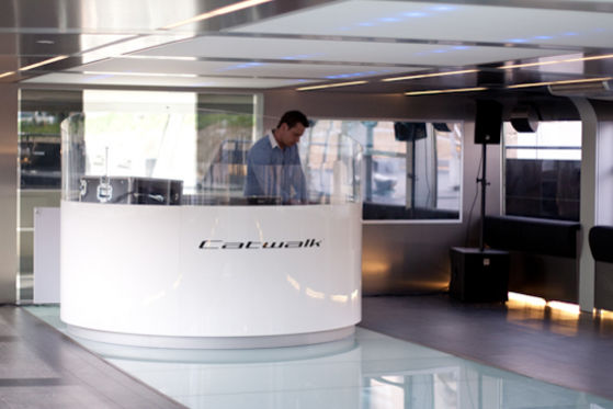 Catwalk im Porsche-Design
