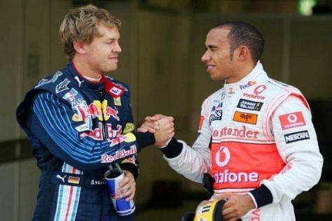 Sebastian Vettel ist für Lewis Hamilton sein großer Rivale in der neuen Saison
