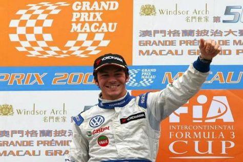 Jean-Karl Vernay: Gelingt ihm der Sprung vom Macao-Podium in die DTM 2010?