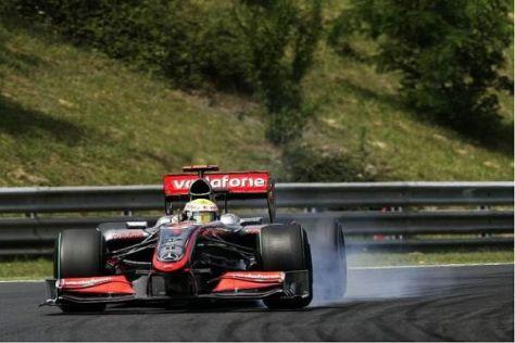 Lewis Hamilton hält die Motoren von Mercedes für die Nummer eins