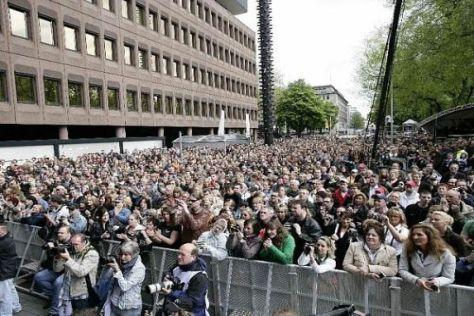 Im Frühjahr kamen hunderttausende Fans zur Präsentation in Düsseldorf