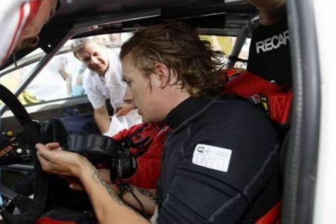 Kimi Räikkönen ist schon seit vielen Jahren ein Freund des Rallyesports