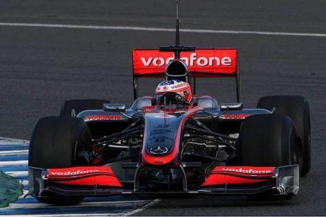 Gary Paffett blieb heute als einziger der zwölf Fahrer unter 1:18 Minuten