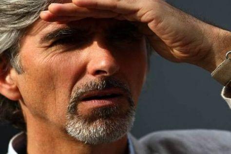 Grand Prix in Sicht? Noch haben Damon Hill und der BRDC keine Gewissheit...
