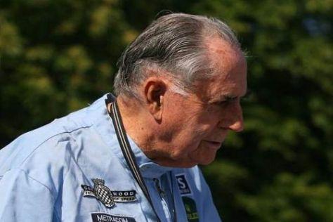 83 Jahre alt, von einem langen Leben gezeichnet: Weltmeister Jack Brabham