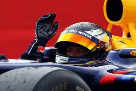 Sebastian Vettel holte 2009 gleich vier Grand-Prix-Siege in der Formel-1-WM