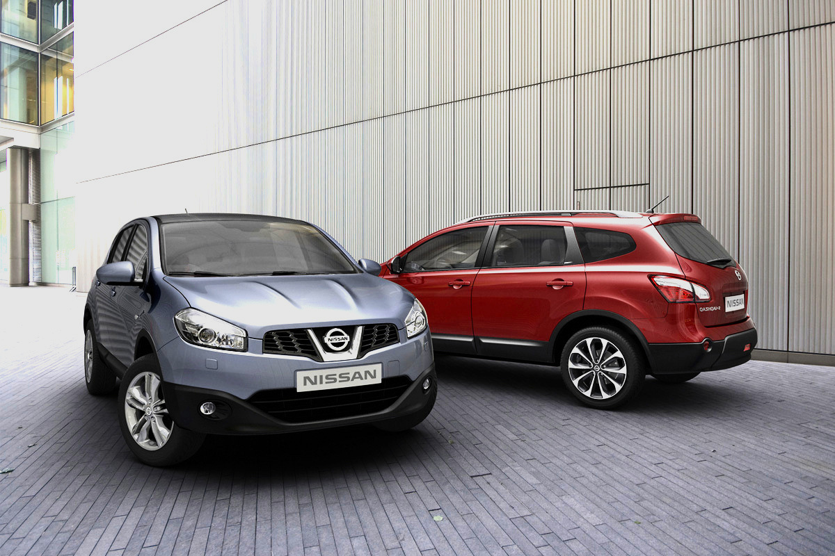facelift nissan qashqai neues gesicht und spar modell. Black Bedroom Furniture Sets. Home Design Ideas