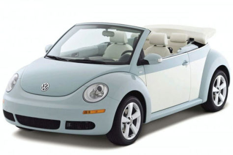 VW New Beetle Cabrio Final Edition
