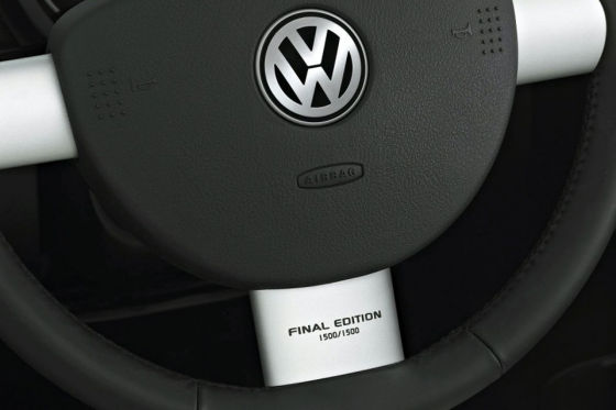 VW New Beetle Final Edition