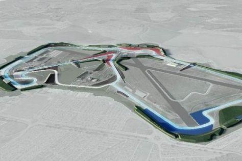 So sieht die neue Silverstone-Arena aus, in der auch die Formel 1 fahren könnte