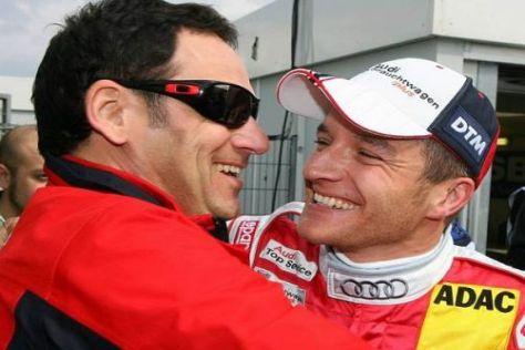 Hans-Jürgen Abt durfte 2009 wieder mit Timo Scheider den DTM-Titel feiern
