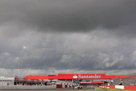 Wieder dunkle Wolken über Silverstone? Es gibt erste Zweifler am Rennprojekt...