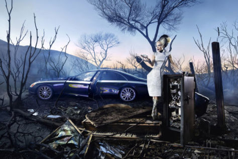 David LaChapelle inszeniert Maybach