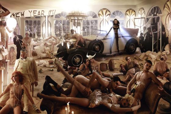 David LaChapelle inszeniert Maybach