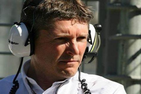 Nick Fry und das Mercedes-Team stellen sich 2010 einer großen Herausforderung