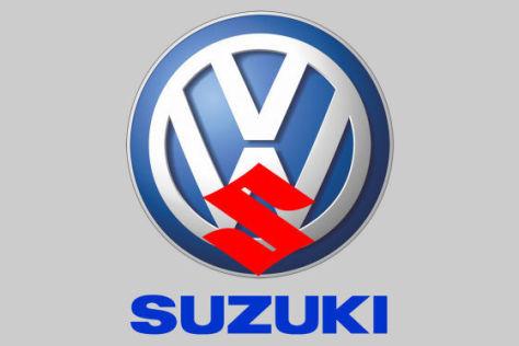 Montage VW-Suzuki-Logo