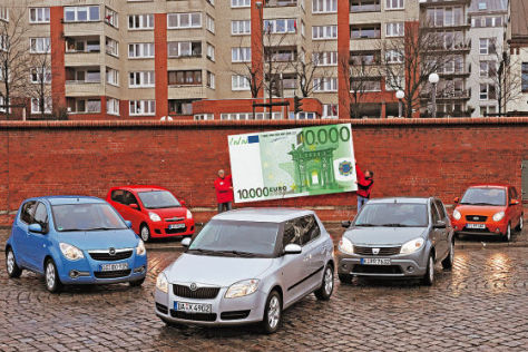 Neuwagen bis 10.000 Euro