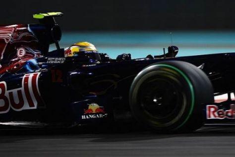Im Zeichen der Dose: Sébastien Buemi stammt aus dem Fahrerkader von Red Bull