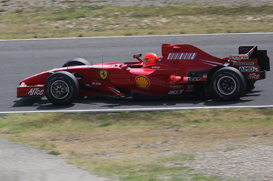 Michael Schumacher Ferrari Formel 1 2009
