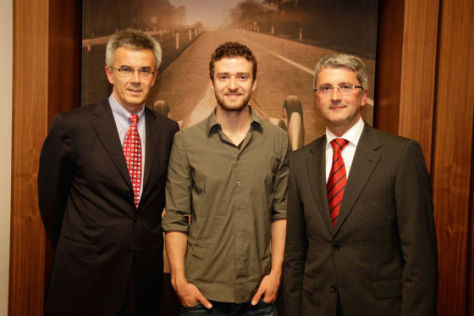 Justin Timberlake wird Audi-Markenbotschafter