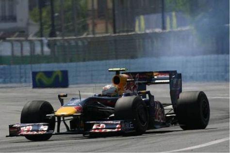 Auch diese Bilder gab es: Renault hatte in dieser Saison durchaus zu kämpfen...
