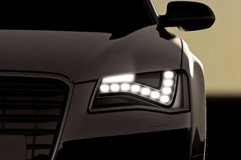 Audi A8 Autobahnlicht