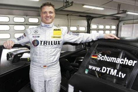 Ralf Schumacher möchte auch in der neuen DTM-Saison wieder mitmischen