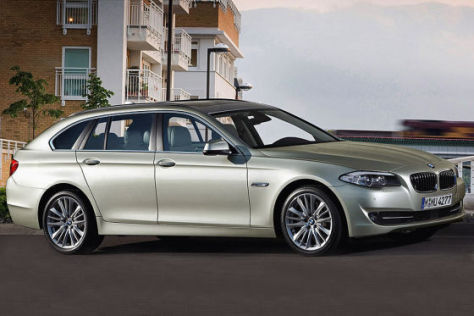Illustration BMW 5er Touring