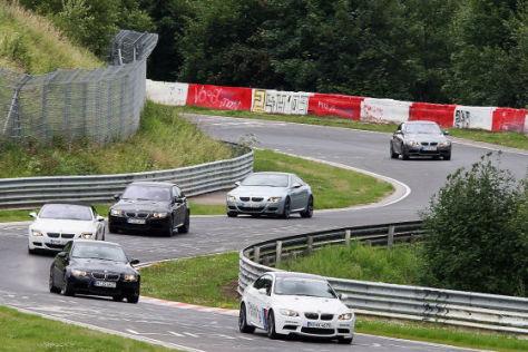 BMW auf dem Nürburgring