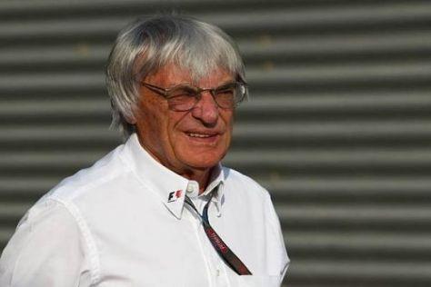 Bernie Ecclestone freut sich schon auf den Grand Prix von Rom im Jahr 2012